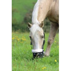 Shires Deluxe Fur Lined Nylon Grazing Muzzle