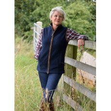 Jack Pyke Countryman Fleece Gilet Ladies Navy