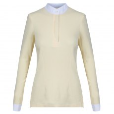 Equetech Foxhunter Ladies Shirt Buttermilk