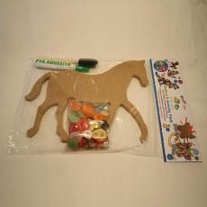 Dotty Buttons Activity Craft Pack Horse