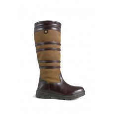 Brogini Dorchester Country Boot Brown wide leg