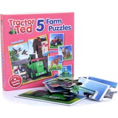 TRACTER TED 5 FARM PUZZLE LOTTO