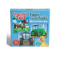 TRACTOR TED TOPS AND TAILS Game