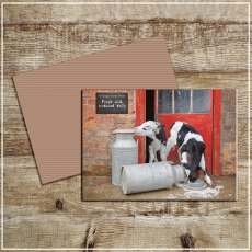 Kitchy & Co Greetings Card Double trouble