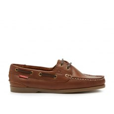 Chatham Willow  Leather Boat Shoes Brown