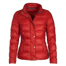 BARBOUR GONDOLA QUILT JACKET Chilli