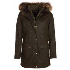 BARBOUR DARTFORD WAX COAT OLIVE