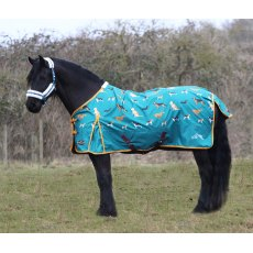 Gallop Dogs Print 100g Turnout Rug