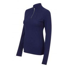 My Lemieux Liberte Zip Base Layer  Ink Blue Ladies