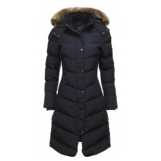 Lemieux Loire Winter Riding Coat Navy