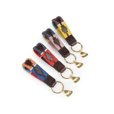 Shires Aubrion Polo Keyring Yellow/Green/Purple