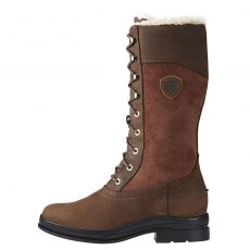 ARIAT LADIES WYTHBURN FUR H20 INSULATED BOOTS JAVA