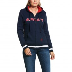 ARIAT LOGO FULL ZIP HOODY TEAM