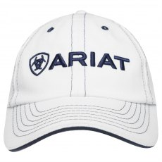 ARIAT ADULT TEAM LOGO CAP WHITE