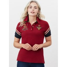 Joules Beaufort Luxe Polo Top