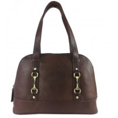 Grays Peggy Handbag Natural Leather Brown