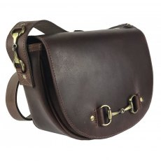 Grays Haston Bag In Brown Leather