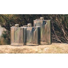 JP Stainless Steel Hip Flask 6OZ