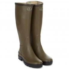 LE CHAMEAU GIVERNY COTTON LINED LADIES WELLINGTONS