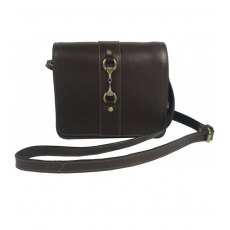 Gray's Julia Side Bag Natural Leather Brown