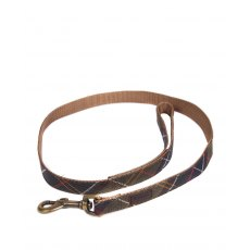 BARBOUR WEBBING DOG LEAD TARTAN