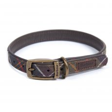 BARBOUR DOG COLLAR TARTAN