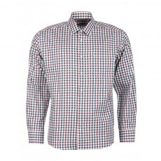 BARBOUR LAWTON SHIRT PLUM