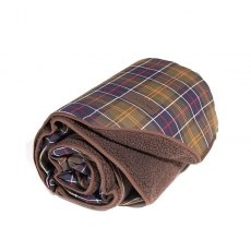 BARBOUR DOG BLANKET LARGE BROWN