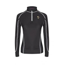 PC LONG SLEEVED LYCRA BASE LAYER BLACK