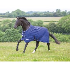 SHIRES TEMPEST ORIGNAL LITE TURNOUT RUG NAVY/GREY