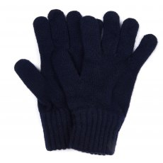 BARBOUR LAMBSWOOL GLOVE NAVY