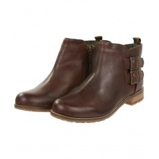 BARBOUR SARAH LOW BUCKLE LADIES BOOT BROWN
