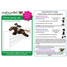 Crafty Ponies Show Jump Set