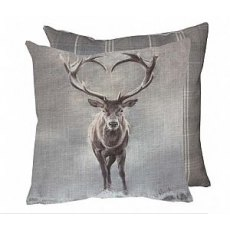 Gray's Stag Cushion