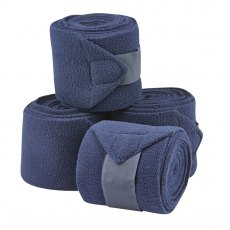 Saxon Coordinate Fleece Bandage 4 Pack in Navy