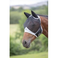Shires Fine Mesh Fly Mask with Ears 6662
