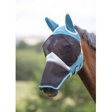 Shires Fine Mesh Fly Mask with Ears & Nose 6665