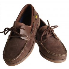 Gallop Deck Shoes Brown