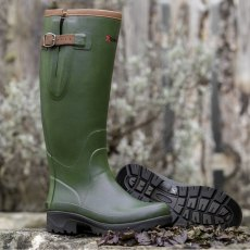 Crosslander Kodiak  Green Wellington Boot Green