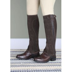 Shires Moretta Suede Half Chaps Adults
