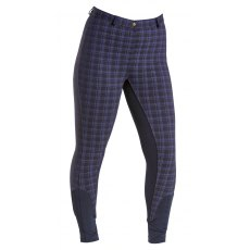 Firefoot Farsley Breeches in Navy Check junior
