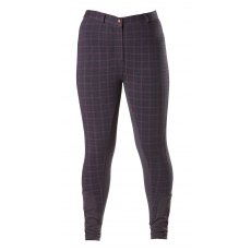 Firefoot Farsley Breeches in Navy Check adults