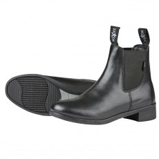 Saxon Syntovia Jodhpur Boot in Black