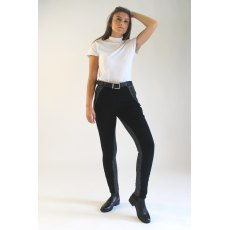 Gallop Ladies Classic Black/Check Jodhpurs