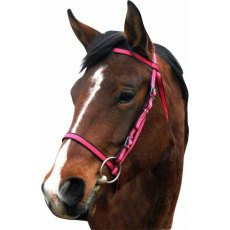 IV Horse Webbing Bridle with ½'' Rubber Reins