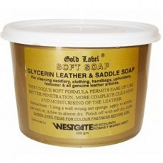 Gold Label Soft Saddle Soap 500G