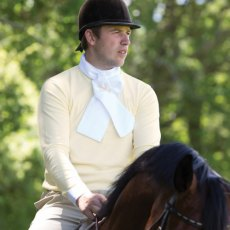 Equetech  Foxhunter Mens Shirt Buttermilk