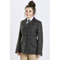 Firefoot Fewston Tweed Jacket adults GREEN CHECK