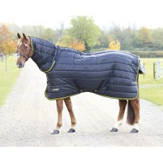 Shires Tempest 300 Stable Rug Combo black /lime