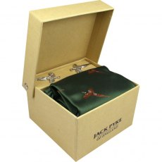 Jack Pyke Tie, Hanky and Cufflinks Gift Set
